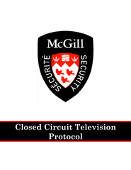 Security Services Closed Circuit Television Protocol