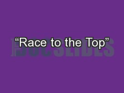 """Race to the Top"""