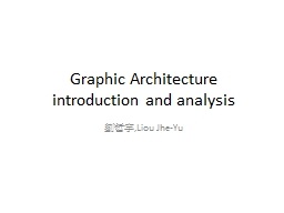 Graphic Architecture introduction and analysis PowerPoint PPT Presentation
