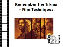 Remember the Titans PowerPoint PPT Presentation