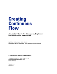 Creating Continuous Flow An Action Guide for Managers