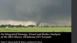 The Great Plains Storm Chase of May 2013