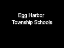 Egg Harbor Township Schools