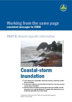 Coastal-storm Learn about your community's risks from hazards cre