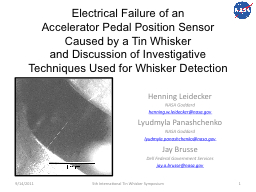 Electrical Failure of an