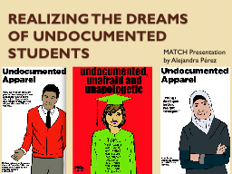 College essay working undocumented students