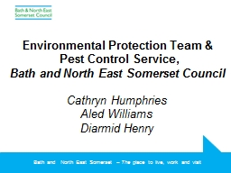 Environmental Protection Team & PowerPoint PPT Presentation