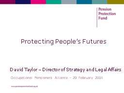 Protecting People's Futures