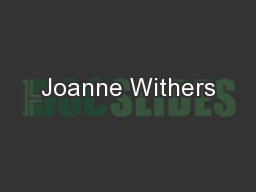 Joanne Withers