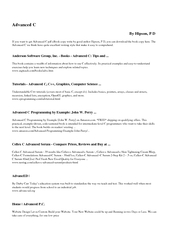 Advanced C By Hipson P D If you want to get Advanced C PowerPoint PPT Presentation