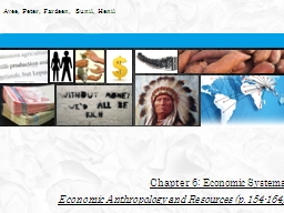 Chapter 6: Economic Systems