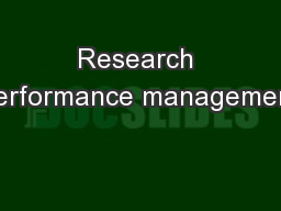 a study of performance management at rvipf How well aligned is your performance management process organisations that want to successfully integrate the key elements of performance management should.