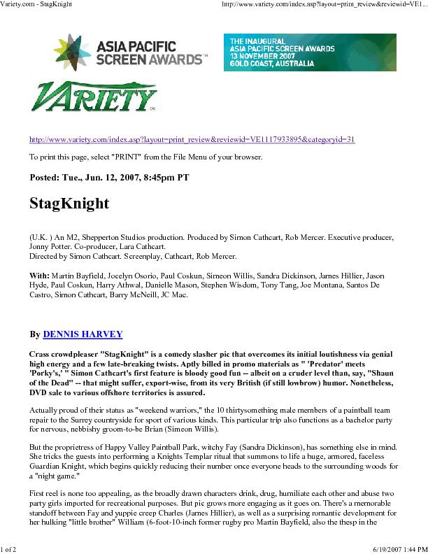 Variety.com - StagKnighthttp://www.variety.com/index.asp?layout=print_