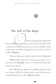 The Gift of the Magi The Gift of the Magi NE DOLLAR AND EIGHTYSEVEN CENTS