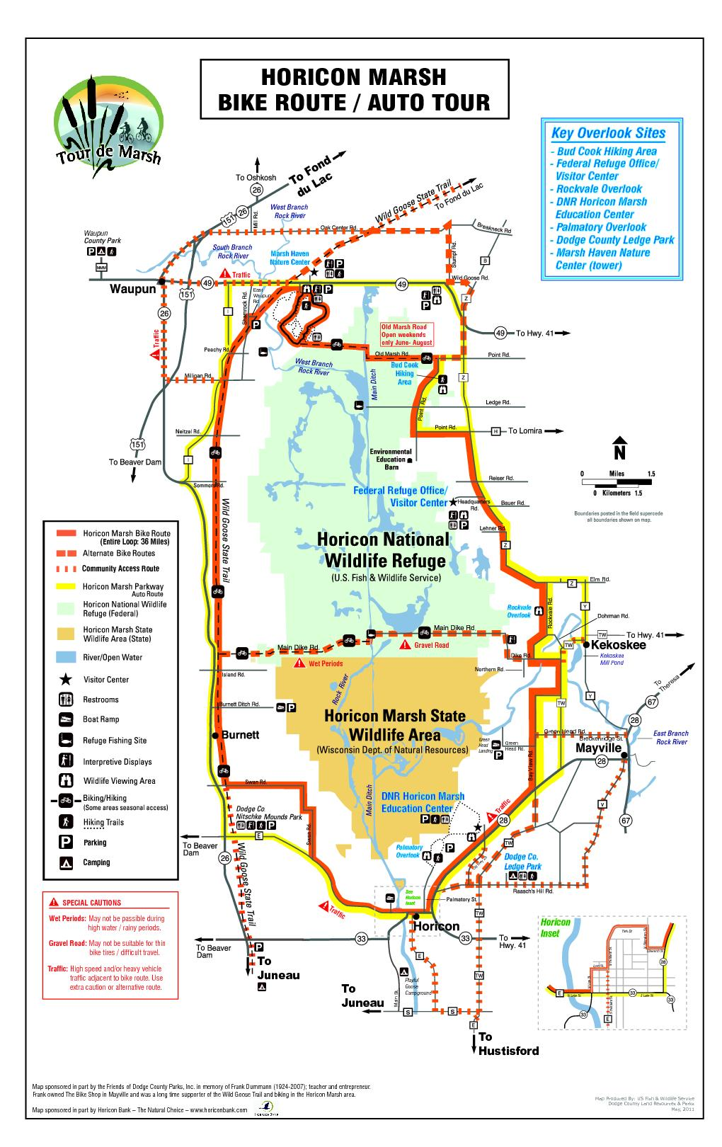 Map Produced By: US Fish & Wildlife Service