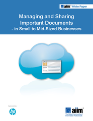 Managing and sharing important documents in small to mid sized businesses