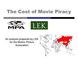 An analysis prepared by LEK for the Motion Picture Ass