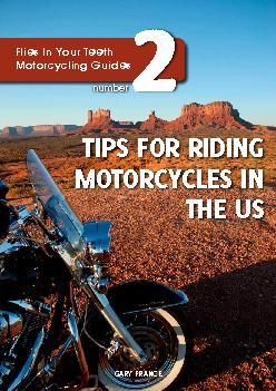 TIPS FOR RIDING MOTORCYCLES IN
