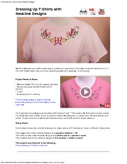 Dressing Up T-Shirts with Neckline Designsfile:///fileserver/Files/Sou