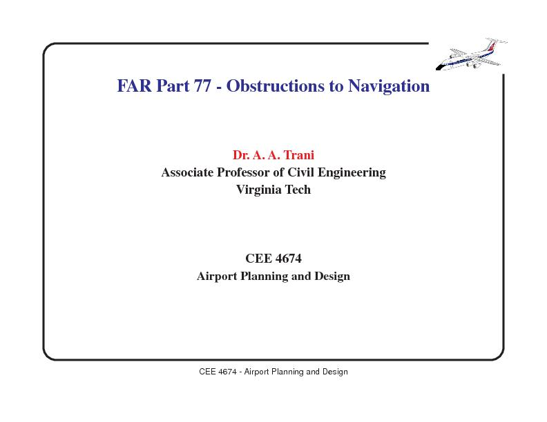 Cee 4674 Airport Planning And Design Pdf Document Docslides