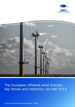 The European offshore wind industry - key trends and statistics 1st ha