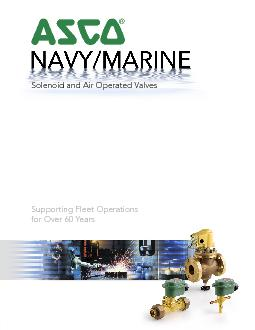 This catalog describes solenoid and air operated valves, representativ