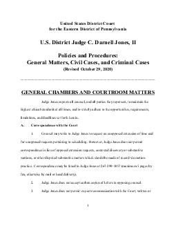 United States District Court for the Eastern District of Pennsylvania U PDF document - DocSlides