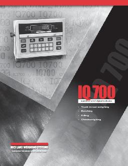 IQ 700stainless steel digital indicator