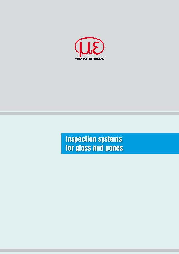 Inspection systemsfor glass and panes PowerPoint PPT Presentation