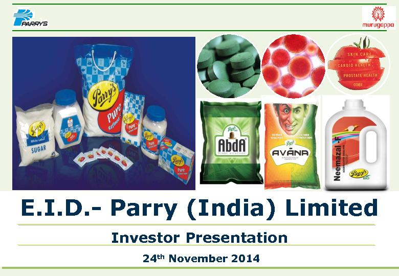 Parry (India) Limited