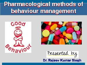 Pharmacological methods of PowerPoint PPT Presentation