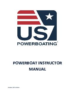 POWERBOAT INSTRUCTOR