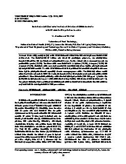 World Journal of Dairy & Food Sciences 2 (1): 28-34, 2007ISSN 1817-308