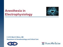 Anesthesia in PowerPoint PPT Presentation