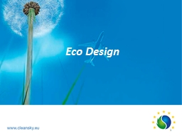 Eco Design PowerPoint PPT Presentation