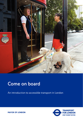 Come on board an introduction to accessible transport in lendon