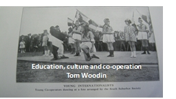 Education, culture and co-operation