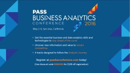 Get the essential business and data analytics skills and te