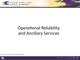 Operational Reliability