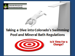 Taking A Dive Into Colorado 39 S Swimming Pool And Mineral Bat Powerpoint Presentation Ppt Docslides