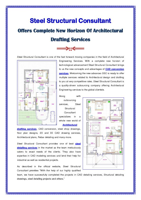 New Horizon Of Architectural Drafting Services