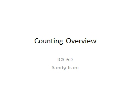Counting Overview