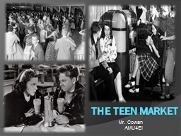 The Teen Market