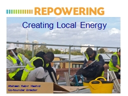 Creating Local Energy PowerPoint PPT Presentation