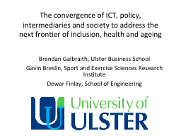The convergence of ICT, policy, intermediaries and society