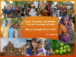 Food, Nutrition, and Health: PowerPoint PPT Presentation
