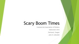 Scary Boom Times