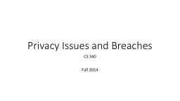 Privacy PowerPoint PPT Presentation