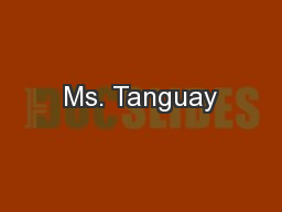 Ms. Tanguay