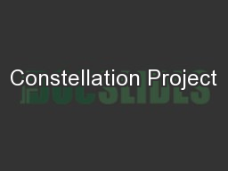 Constellation Project